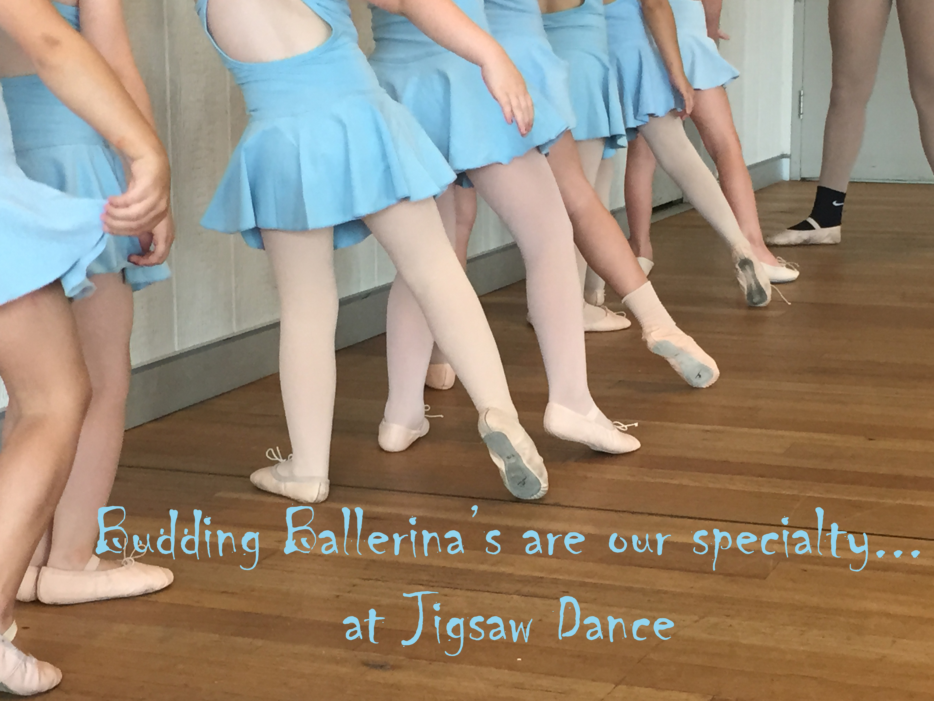 Budding Ballerinas at Jigsaw Dance Hornsby