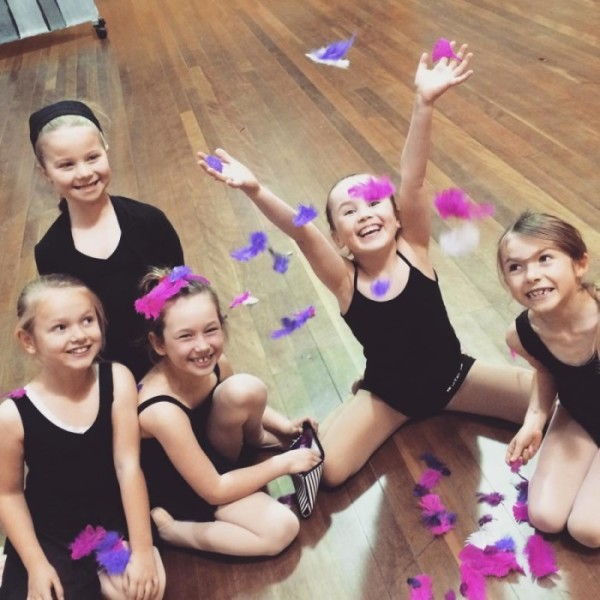 Dancing Girls enjoying Dance lessons in Hornsby