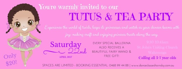 North Shore Holiday Event - Tutus&TeaParty