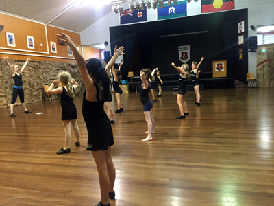 Hornsby and Wahroonga School dance class