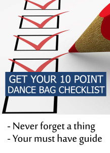 Dance bag checklist 10 point