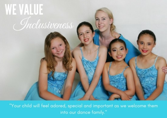 Inclusive dance classes for kids in hornsby